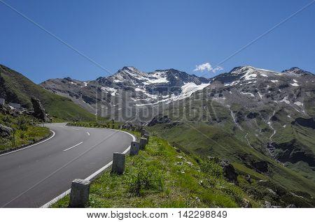 Grossglockner High Alpine Road, National Park Hohe Tauern, Austria poster