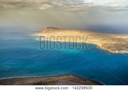 Isla La Graciosa In Canary Islands