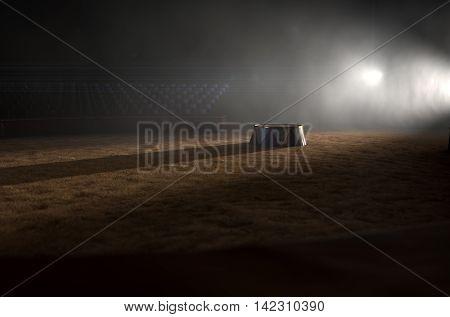 Circus Ring And Podium