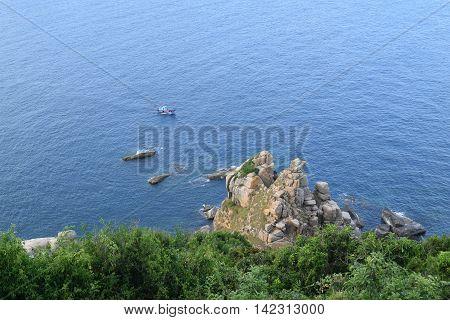 Pristine Sea At Dai Lanh Cape, Mui Dien, Phu Yen Province, Easternmost Of Viet Nam