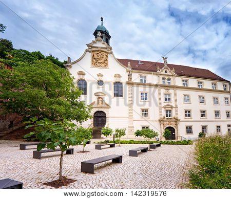 Old building in  Baden Baden. Germany
