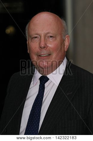 LONDON, UK, JUN 30, 2014: Julian Fellowes attends the Best of Britain's Creative Industries reception at 10 Downing street