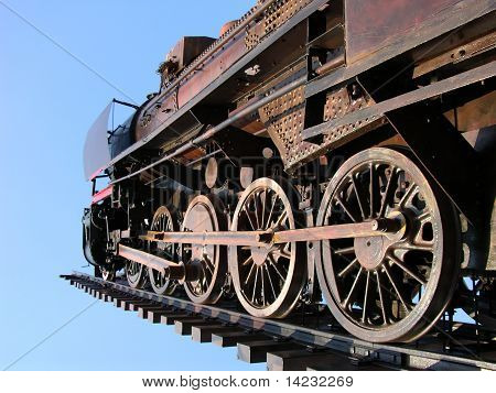 Old steam engine dying