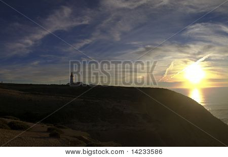 Sunset At Cape Espichel.