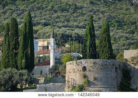 Stari Bar Citadel and Minaret, Montenegro