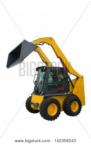 Vertical-Lift Skid Loader. Wheel loader. Loading machine aggregates.