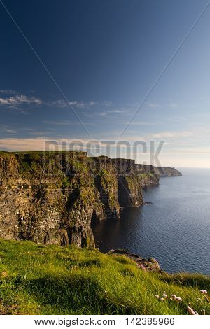 Cliffs of Moher Burren region County Clare Ireland