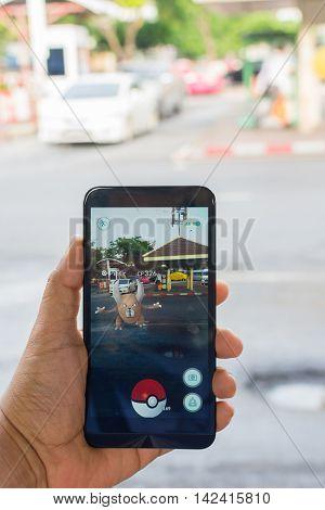 Pokemon Go Application Game