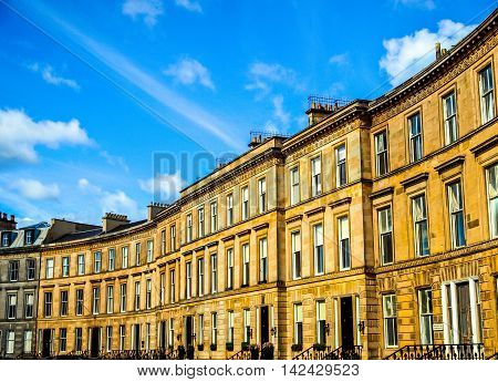 Terraced Houses Hdr