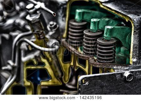 Piston Of Diesel Engine