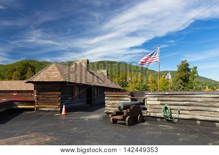 Fort William Henry Museum, Lake George, USA