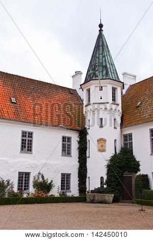 castle and convent of Bosjokloster in Sweden