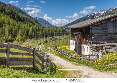 Old Farmhouse In South Tyrol
