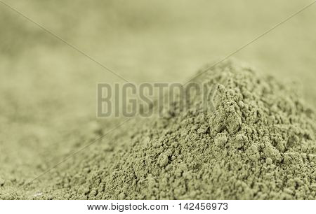 Stevia Powder close-up shot for use as background image or as texture