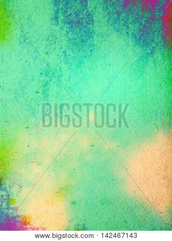 Abstract art background. Multicolor grange texture. Fragment of artwork. Spots of oil paint. Brushstrokes of paint. Modern art. Contemporary art.