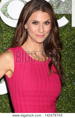 LOS ANGELES - AUG 10:  Samantha Harris at the CBS, CW, Showtime Summer 2016 TCA Party at the Pacific Design Center on August 10, 2016 in West Hollywood, CA
