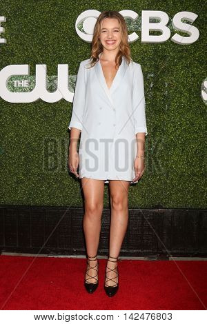 LOS ANGELES - AUG 10:  Sadie Calvano at the CBS, CW, Showtime Summer 2016 TCA Party at the Pacific Design Center on August 10, 2016 in West Hollywood, CA
