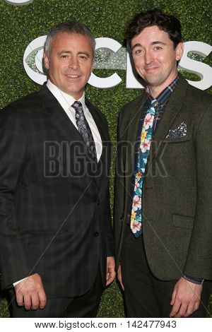 LOS ANGELES - AUG 10:  Matt LeBlanc, Matt Cook at the CBS, CW, Showtime Summer 2016 TCA Party at the Pacific Design Center on August 10, 2016 in West Hollywood, CA