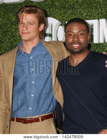 LOS ANGELES - AUG 10:  Lucas Till, Justin Hires at the CBS, CW, Showtime Summer 2016 TCA Party at the Pacific Design Center on August 10, 2016 in West Hollywood, CA