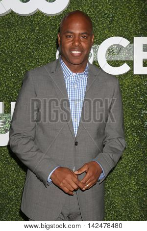 LOS ANGELES - AUG 10:  Kevin Frazier at the CBS, CW, Showtime Summer 2016 TCA Party at the Pacific Design Center on August 10, 2016 in West Hollywood, CA