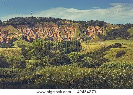Red Ravine (rapa Rosie) Landscape