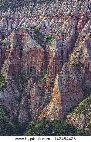 Unique Geological Erosion Structure