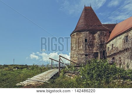 Old Gate Tower, Corvin Castle, Romania