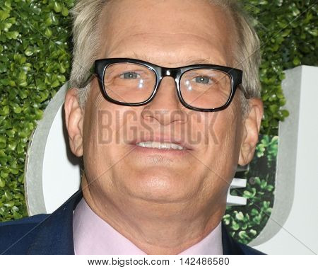 LOS ANGELES - AUG 10:  Drew Carey at the CBS, CW, Showtime Summer 2016 TCA Party at the Pacific Design Center on August 10, 2016 in West Hollywood, CA
