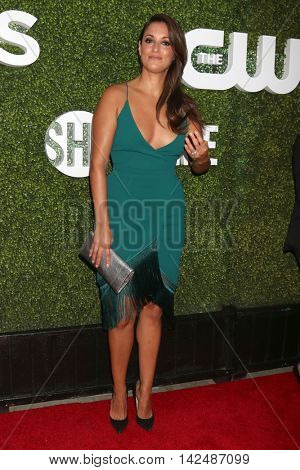 LOS ANGELES - AUG 10:  Angelique Cabral at the CBS, CW, Showtime Summer 2016 TCA Party at the Pacific Design Center on August 10, 2016 in West Hollywood, CA
