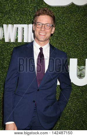 LOS ANGELES - AUG 10:  Barrett Foa at the CBS, CW, Showtime Summer 2016 TCA Party at the Pacific Design Center on August 10, 2016 in West Hollywood, CA