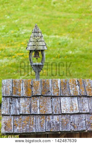 Belfry Of Old Alpine Cabin