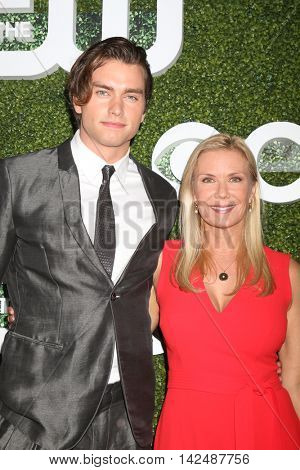 LOS ANGELES - AUG 10:  Pierson Fode, Katherine Kelly Lang at the CBS, CW, Showtime Summer 2016 TCA Party at the Pacific Design Center on August 10, 2016 in West Hollywood, CA