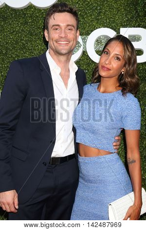LOS ANGELES - AUG 10:  Daniel Goddard, Christel Khalil at the CBS, CW, Showtime Summer 2016 TCA Party at the Pacific Design Center on August 10, 2016 in West Hollywood, CA