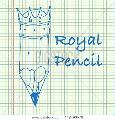 Pencil In Crown