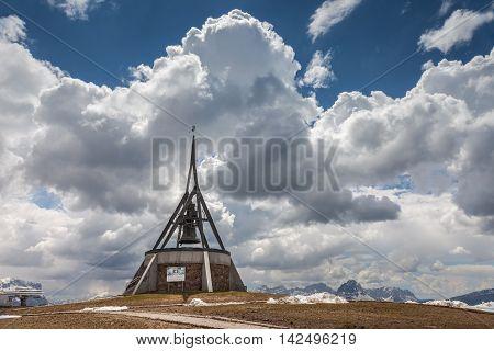 Peace Bell On The Kronplatz (2275 M)
