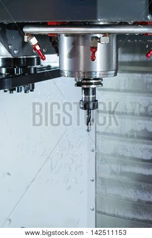 Spindle Modern High-precision Cnc Milling Machine.