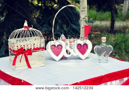 Harvesting of wedding paraphernalia for use in advertising