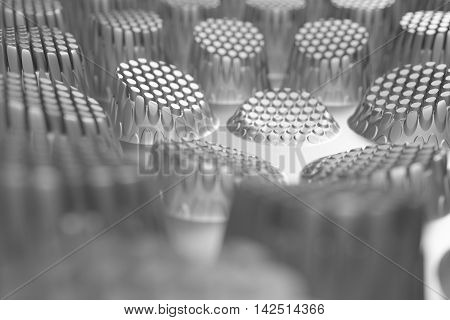 3D Rendering Of Reflective Displacement Surface