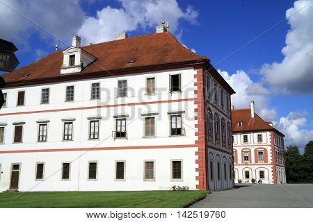 Czech Republic the Castle Mnichovo Hradiste is established stedelijk museum