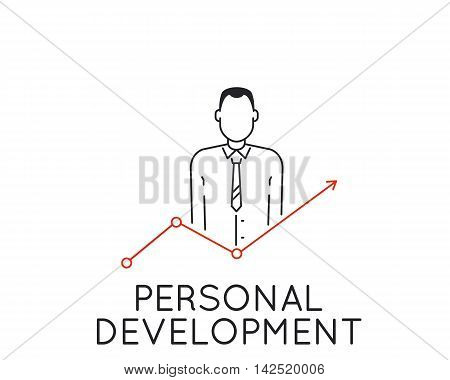 Vector Linear Concept of Personal Development and Professional Progress
