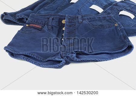 Jeans pocket blue color for size S,L