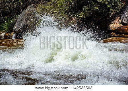 Yosemite River Spindrift
