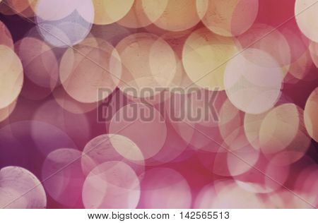 The Multicolored blurry and bokeh abstract background.