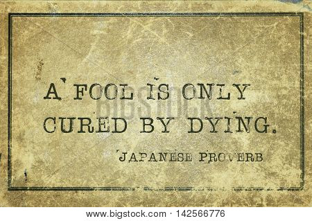 Fool Is Cured Jp