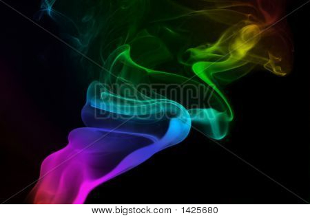 Silky Rainbow Smoke
