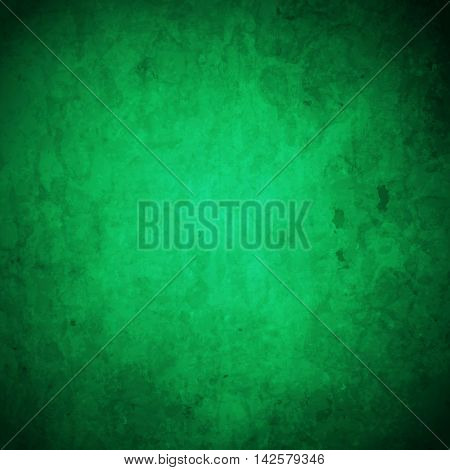 abstract vector grunge background - green and dark green