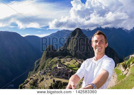 Selfie In Machu Pichu