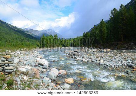 Rough Mountain River Shumak.