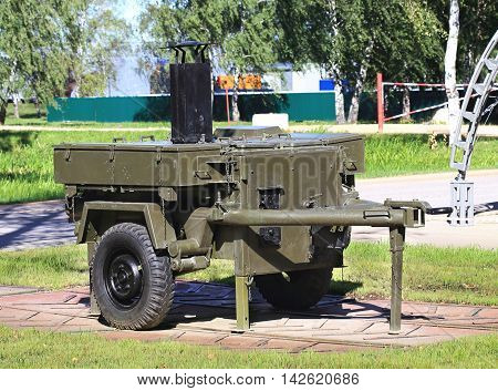 Chinese mobile outdoor kitchen for the troops in the field conditions