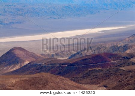 Beauty Of Death Valley In California, Usa